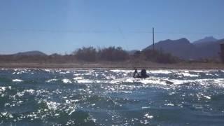 kitesurfing lessons in Mallorca in April Roberto 3 days kite course kite spot Pollensa