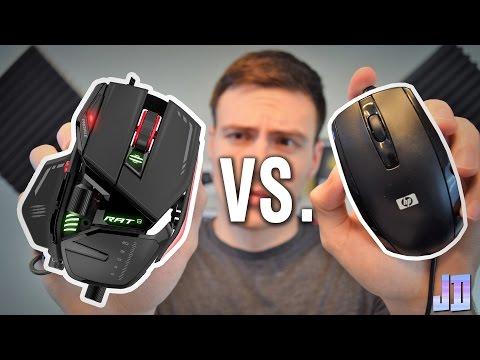 Gaming Mice Vs Regular Mice