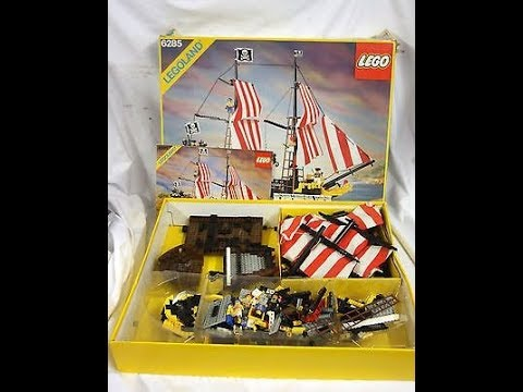 Lego Set 6285 1 Black Seas Barracuda Pirates Youtube