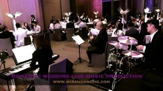 Nothing's Gonna Change my Love for You - Hong Kong Wedding Live Band @ W Hotel (香港婚禮樂隊)