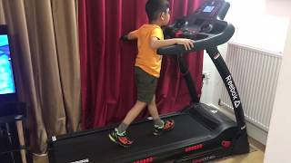 Reebok treadmill with hasnain