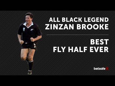 All Blacks v Lions - Best Flyhalf ever - Zinzan Brooke
