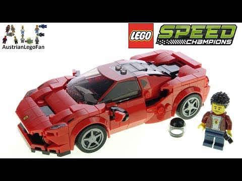 LEGO Speed Champions 76895 Ferrari F8 Tributo - Lego Speed Build Review