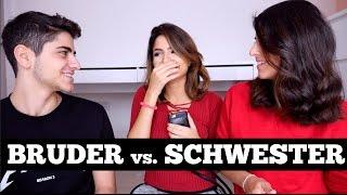 WER KENNT MICH BESSER?! - Bruder vs. Schwester