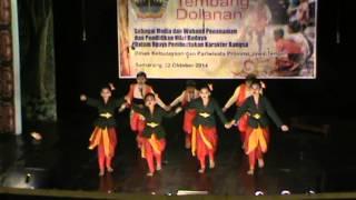 Festival Tembang Dolanan (Jawa Tengah) 2014