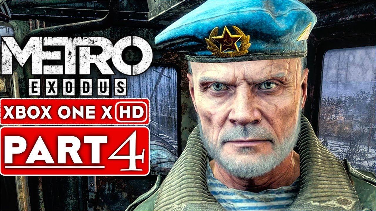 METRO EXODUS Gameplay Walkthrough Part 4 [1080p HD Xbox One X] - Kein Kommentar + video