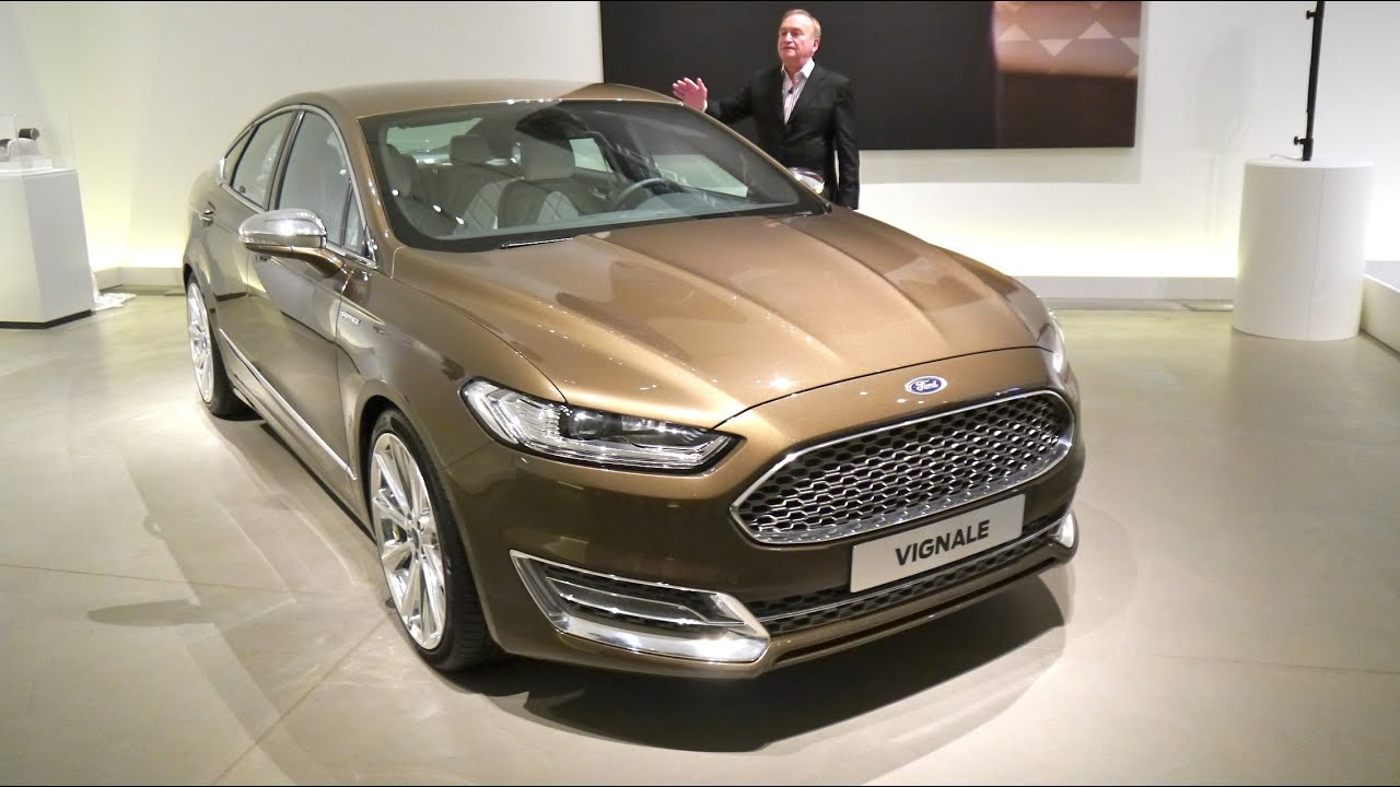 ford mondeo vignale concept first presentation youtube. Black Bedroom Furniture Sets. Home Design Ideas