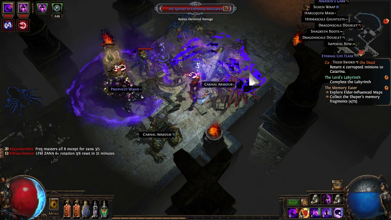 Destroying Pagan, Bishop of Agony  Path of Exile