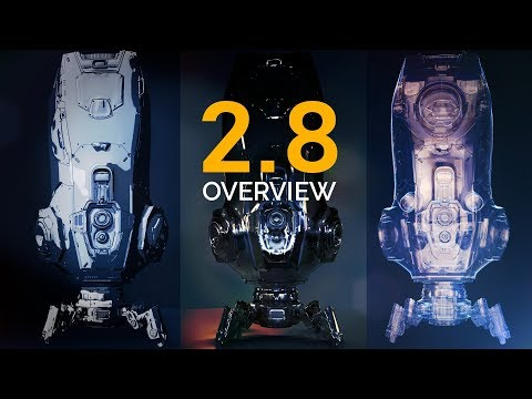 Blender 2.8 Overview | Eevee & Much More!