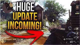 COD WWII WINTER EVENT ANNOUNCED! - WINTER CARENTAN NEW MAP, HUGE DOUBLE XP EVENT, & RANKED PLAY!