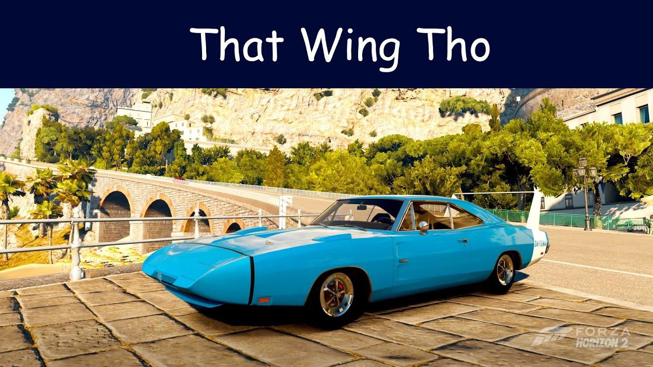 Forza Horizon 2 - 1969 Dodge Charger Daytona Hemi Top Speed - YouTube