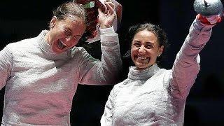 Россиянки взяли и золото и серебро турнира по фехтованию на Олимпиаде в Рио