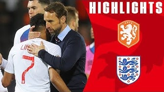 Netherlands 3-1 England | Three Lions Undone by Two Late Goals | Official Highlights