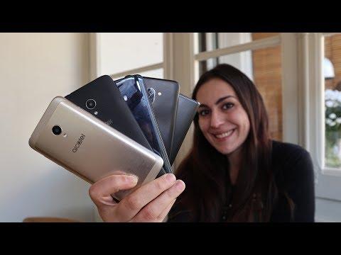 Alcatel, tutti i nuovi smartphone della serie 5, 3 ed 1 - Mobile World Congress 2018