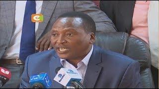 Wabunge wa Gusii wasema wanatambua Kenyatta ni rais