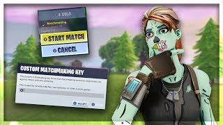 "HOW TO GET ""CUSTOM MATCHMAKING"" IN FORTNITE WITHOUT A CREATOR CODE (HOW TO USE CUSTOM MATCHMAKING)"