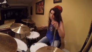Jessica Burdeaux - Don't Let Me Down - The Chainsmokers Ft. Daya - Full Drum Remix