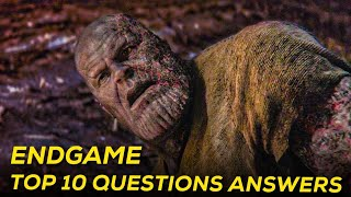 Endgame Movie Based Top 10  Question    SUPER INDIA