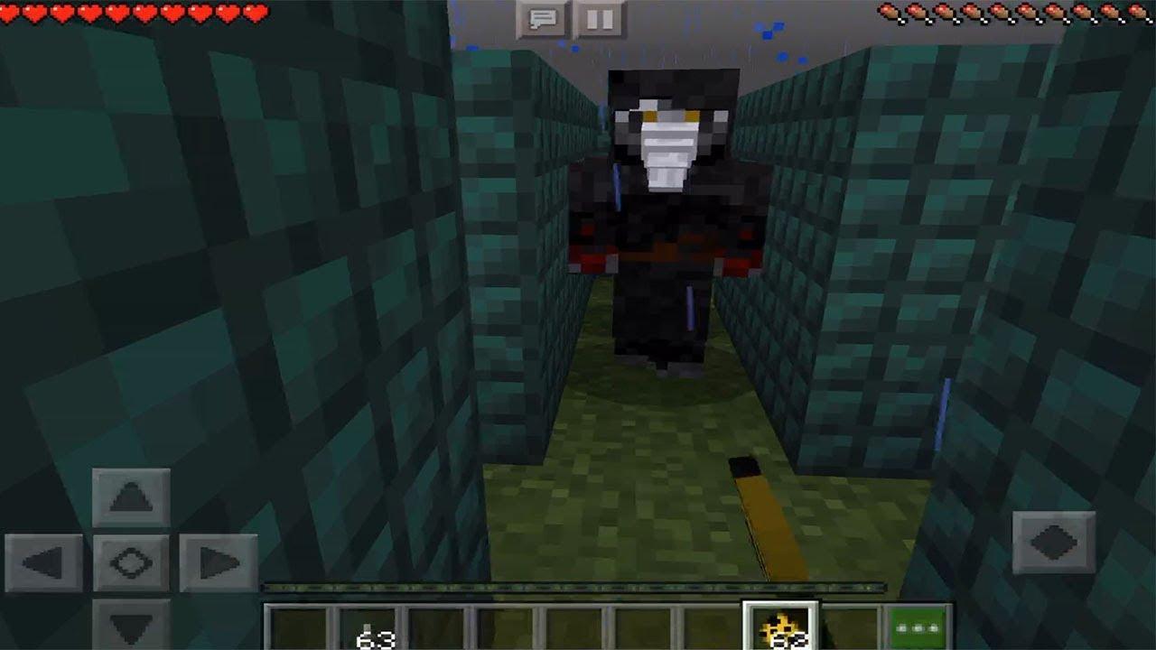 SCP Mod Creepy Maze Minecraft PE #1