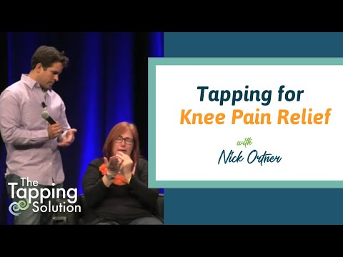EFT Tapping for Knee Pain, Anger, and More with Nick Ortner of The Tapping Solution