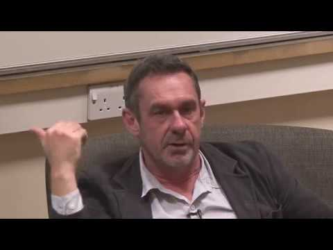 'The Future of the Left' Nuffield College, Oxford 09/11/2017. Guest speaker Paul Mason