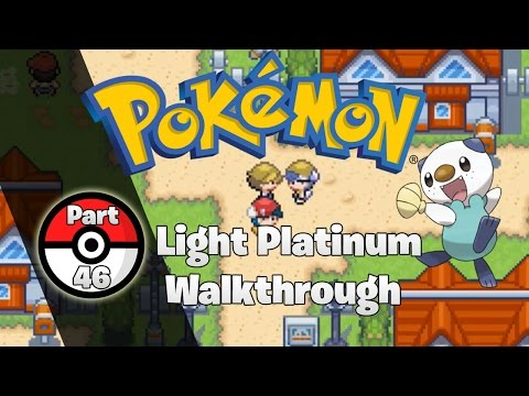 Pokemon Light Platinum Walkthrough Part 46: New Region, New Challenge