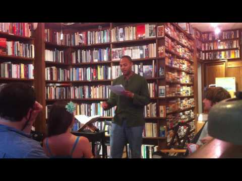 Malik Crumpler Reads at Berkeley Books of Paris, 22 July 2016