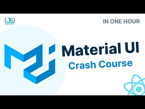 Learn Material UI in One Hour – React Material UI Project Tutorial [2021]