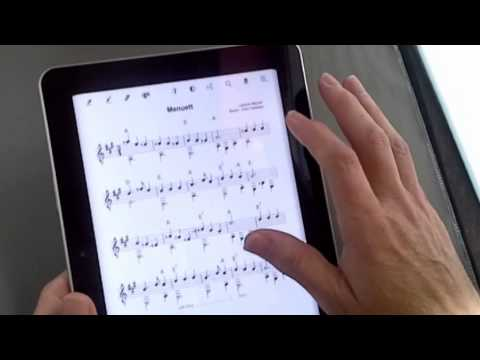 eMusic notation in eBook format