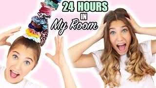 24 Hours in my BEDROOM!  Rosie McClelland