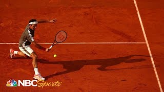 2019 French Open: Roger Federer ready to take on rival Rafael Nadal | NBC Sports