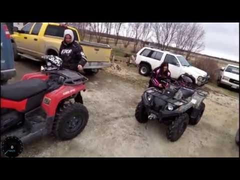 ATV trail riding to Milner Ridge