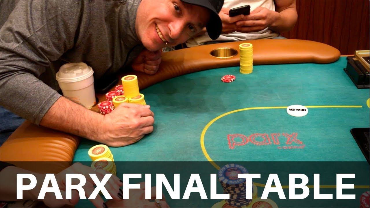 Pumped At The Parx 2 5k Final Table Yes From March Poker Vlog 103 Youtube
