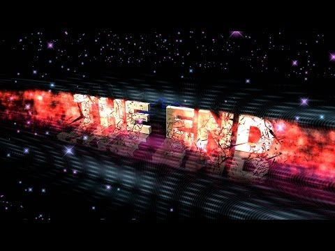 4K THE END ANIMATION BULLET TIME EXPLOSION TITLE AA VFX