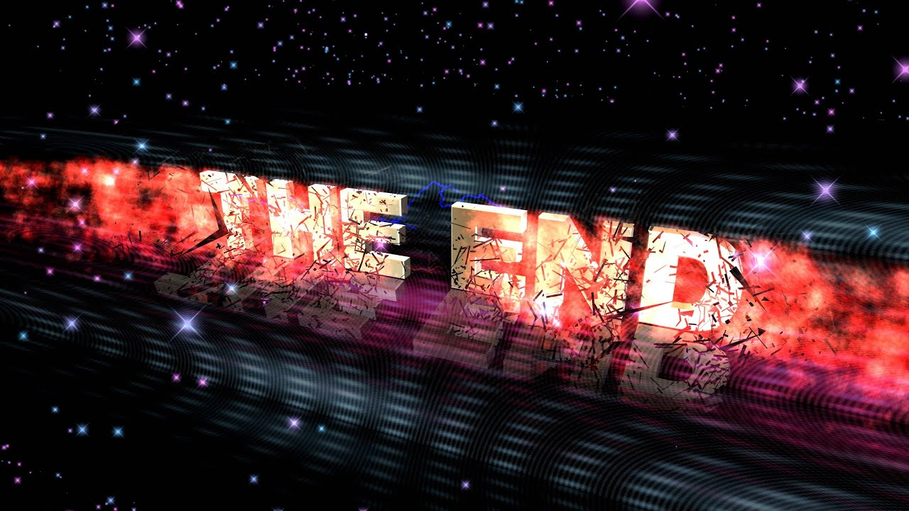 4K THE END ANIMATION BULLET TIME EXPLOSION TITLE AA VFX - YouTube
