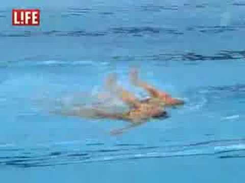 Рамазан, Синхронное плавание, Олимпиада 2008