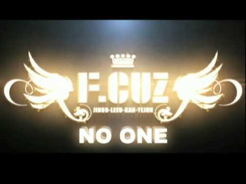 F.CUZ《No One》MV 4月22日 YahooMusic首播