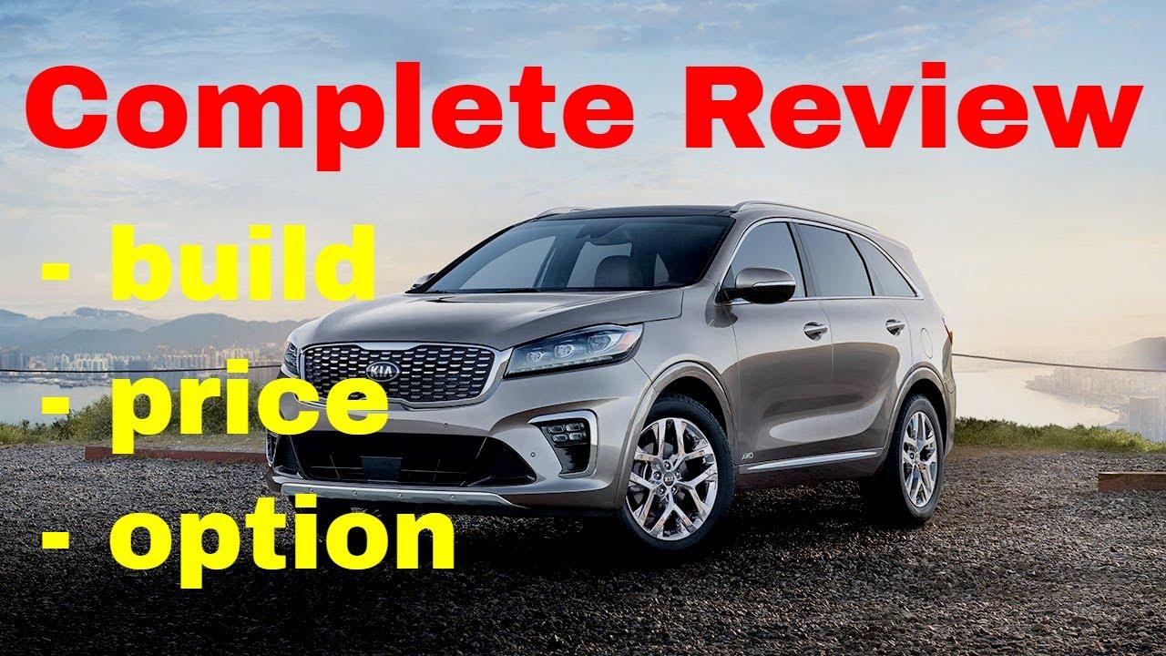 2019 Kia Soo Ex V6 Suv Build Price Review Trim Level Configurations Horse Msrp