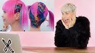 HAIRDRESSER REACTS TO HARAJUKU GIRL HAIR COLOR! |bradmondo