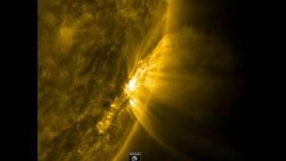 بالفيديو - ''ناسا'' ترصد خروج حلقات ضوئية مذهلة من الشمس