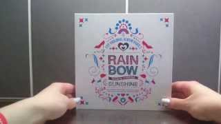 Unboxing Rainbow 레인보우 1st Album Rainbow Syndrome Part 2: Sunshine
