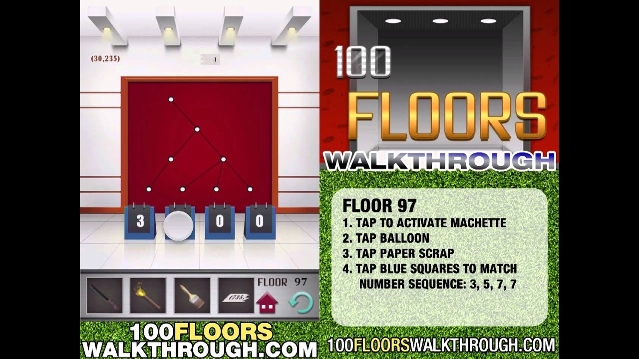 Floor 97 Walkthrough 100 Floors Walkthrough Floor 97