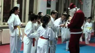 Novogodišnji trening karate kluba