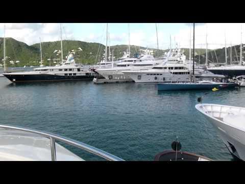 Superyachts in Antigua