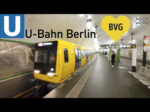 U-Bahn Berlin | Metro | BVG | March 2020