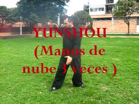 Tai Chi Chuan 24 form (nombres de los movimientos) - YouTube
