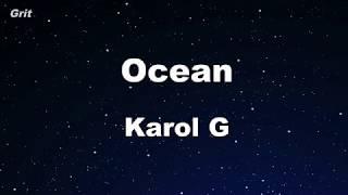 Ocean - Karol G  【no Guide Melody】 Instrumental