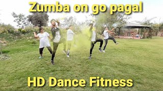 Zumba Bollywood Dance Workout | Go pagal Holi special HD Dance Fitness center