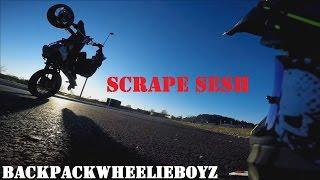 Backpackwheelieboyz Scrape Sesh   Supermoto Wheelie & Friends thumbnail