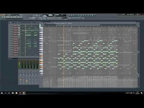 Fl Studio: Alan Walker - Tired (Epic Piano Remix) (Free FLP/MIDI Download)